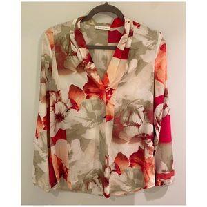 Calvin Klein floral top